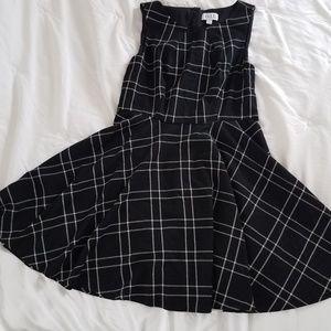 Elle Plaid Print Dress